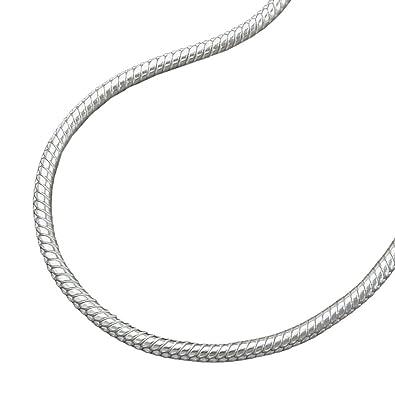1,3mm Länge Kette aus 925 Sterling Silber Halskette Collier Breite 40cm
