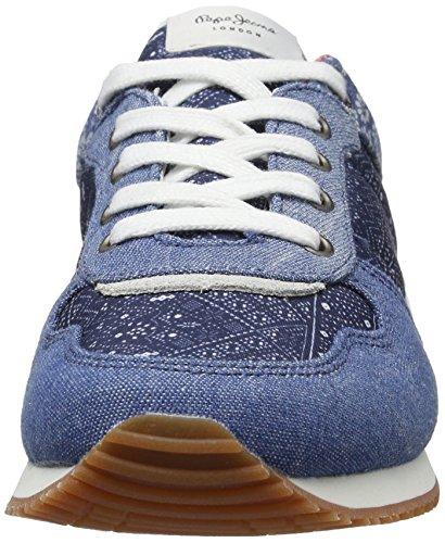 Basses Denim Jeans Pepe dk Sneakers Fille Sydney Indigo Bleu IFCxqC8wd