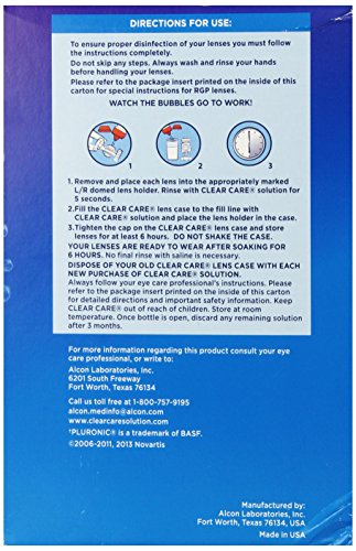 047113609027 - Clear Care 3% Hydrogen Peroxide Cleaning & Disinfecting Solution - 2 x 12 oz carousel main 6