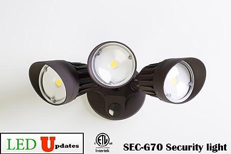 LEDUPDATES LED Wall Pack light Outdoor Security floodlight 30w ETL
