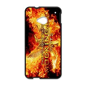 HTC One M7 phone case Black The Hunger Games PPKK9671505