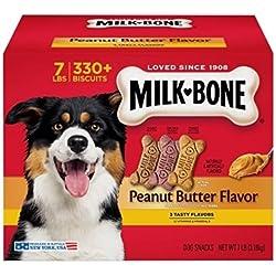 Milk-Bone Peanut Butter Flavor Dog Treats Variety Pack, Small/Medium/7 Lb
