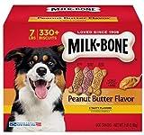 Milk-Bone Peanut Butter Flavor Dog Treats Variety Pack, Small/Medium/7 Lb Review