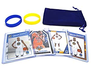 Kevin Durant (4) Assorted Basketball Cards Bundle - Golden State Warriors Trading Cards - # 35