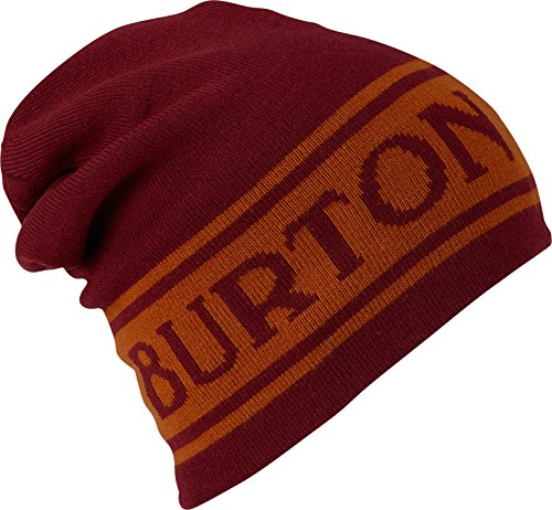 Burton Billboard Slouch Beanie, Fired Brick/Golden Oak, One Size
