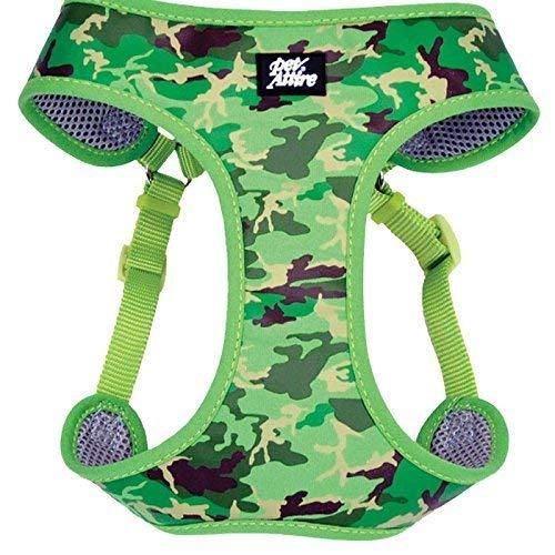 Coastal Pet Attire Dog XXS Green Camo wrap harness 14-16