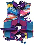 Hyperlite Child Life Vest, Blue, USCG Approved Type III Personal Floatation Device, (Purple/Blue/Multi, Child (30-50 lbs))