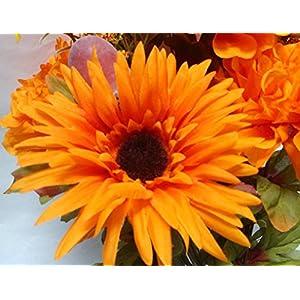 Silk Marigold Flowers