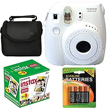 Amazon.com : Fujifilm Instax Mini 8 Instant Film Camera (White ...