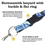 Buttonsmith Starry Night Premium Lanyard - with