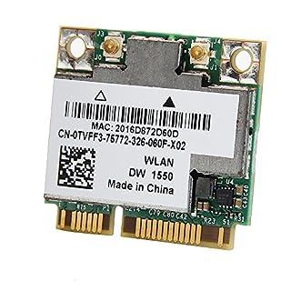 TVFF3 - WiFi Card DW1550 802.11ac/a/b/g/n Internal; Mini Bluetooth 4.0 H Precision M4800 (B00ZSX9LU4)   Amazon price tracker / tracking, Amazon price history charts, Amazon price watches, Amazon price drop alerts