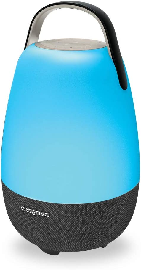 Creative Nova Alexa-Enabled Wi-Fi Multi-Room 5-Driver Portable Smart Speaker with Bluetooth for iOS and Android Devices (MF8285)