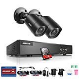 quick build ch - ANNKE Security Camera System with 4 CH 720P DVR and (2) Security Cameras Outdoor Weatherproof , 100ft Night Vision -IR Cut build in, Quick Remote Access via Smartphone-1TB HDD Included