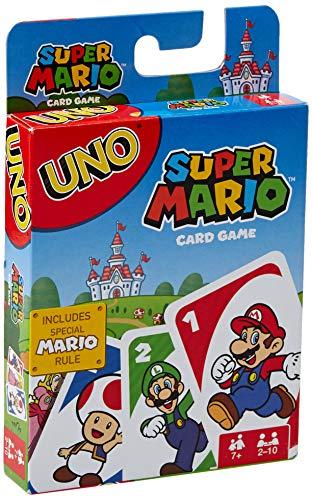 UNO Super Mario Card Game -