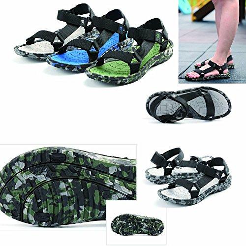 Chaussures de plage bleue Chaussures de plage à bas prix