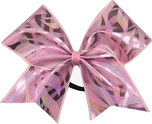 Sparkle Bows Cheer Multi Mystique Cheer Bow (Pink)