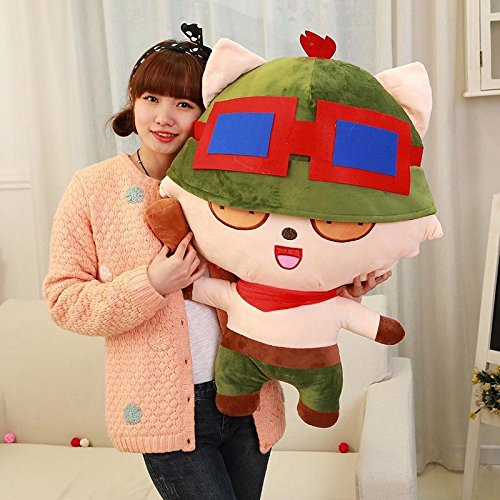 [Hot 2017 League of Legends LOL Captain Teemo LARGE SIZE Plush Doll Toy 33