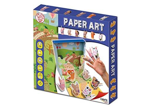 Cayro Paper Art Farm Animals