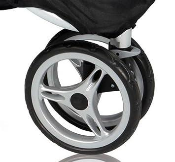 Para Baby Jogger City Mini de repuesto rueda delantera negro: Amazon.es: Oficina y papelería