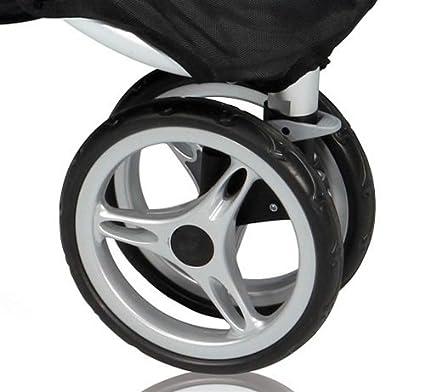 Para Baby Jogger City Mini de repuesto rueda delantera negro ...