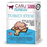 Caru – Turkey Stew For Cats, Natural Cat Food With Added Vitamins, Non-Gmo Ingredients, Complete And Balanced For All Stages Of Life (6 Oz)