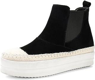 bottes de paille Muffin bottes femmes bottes bas Duantong printemps chaussures plates , black , US5.5 / EU35 / UK3.5 / CN35