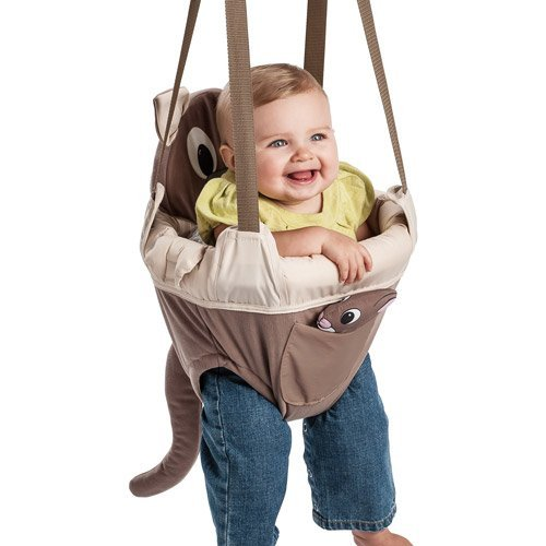 Evenflo ExerSaucer Baby Doorway Jumper, Brown – Joey Jump Up For Sale