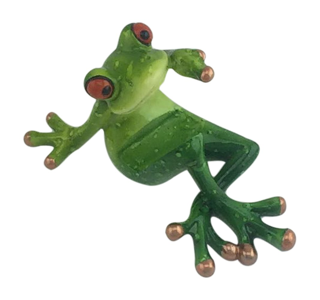 Amazon.com: Novelty Frog Figurine - Frog Cell Phone Holder by ...