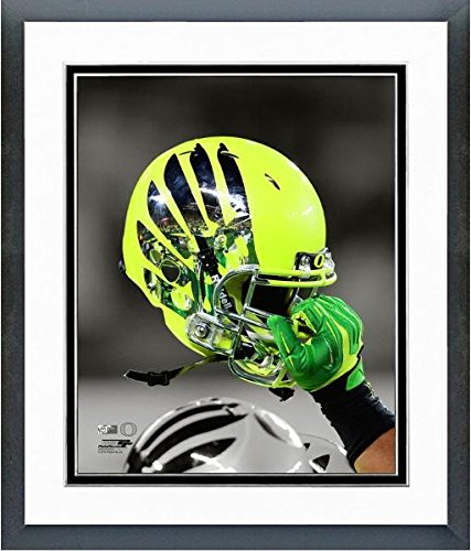 Oregon Ducks Football Helmet Spotlight Photo (Size: 12.5