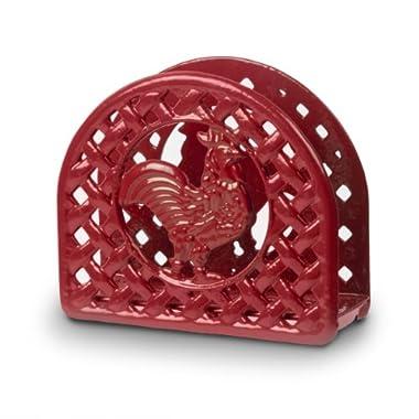 Anchor Hocking Rooster Napkin Holder