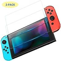 2 Pzas Nintendo Switch Mica Templada Máxima Calidad 9H 0.26mm 2 Unidades