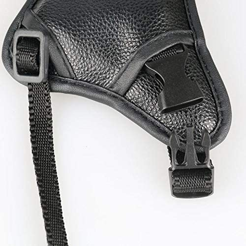 Triangle camera strap wrist strap comfortable and convenient leather wrist band for DSLR SLR Camera PrinceShop