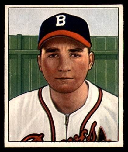 - 1950 Bowman #74 Johnny Antonelli Bos Braves MLB Baseball Card (RC - Rookie Card) G Good