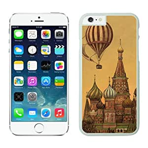 Dayitrade Cheap No Minimum Classic Top Art Design iPhone 6 Plus Case White