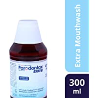 Parodontax Mouth Wash Extra for Bleeding Gums, 300 ml
