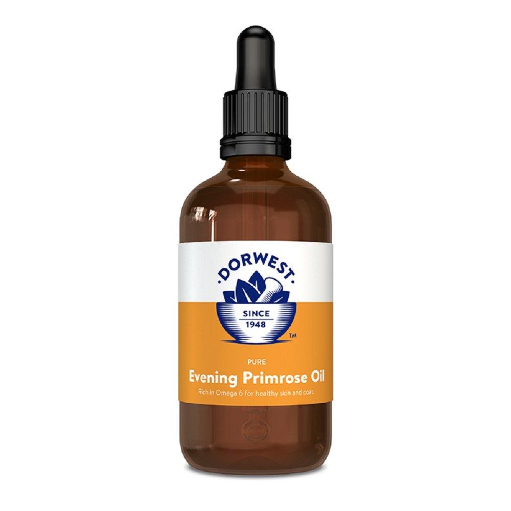 Dorwest Herbs Aceite de onagra para perros y gatos, 100 ml: Amazon.es: Jardín