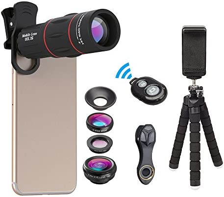 Apexel Photography Kit Flexible Monocular Smartphone