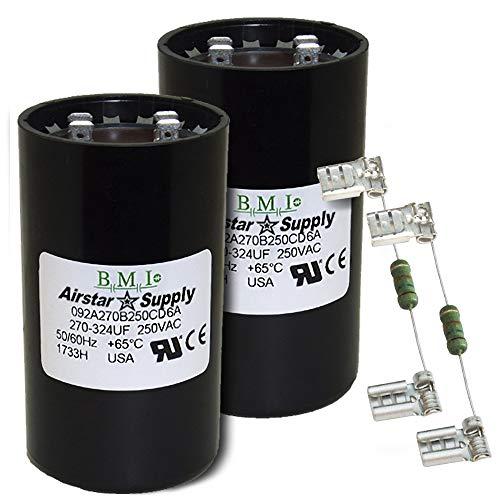 6FLW3 270-324 Microfarad Rating Round Motor Start Capacitor 220-250VAC
