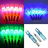 6PCS-LED-Lighted-Hunting-Nock-Compound-Bow-Arrow-Nocks-Tail