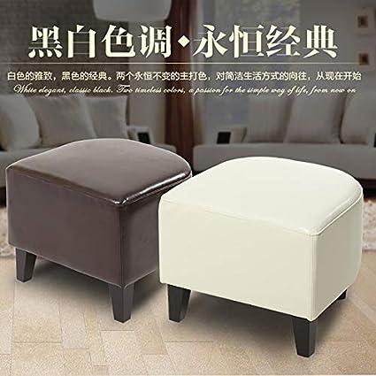 Amazon.com: X-14 - Taburete de piel para sofá o sofá, diseño ...