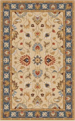 Surya Caesar CAE-1125-69 Hand Tufted Wool Classic Area Rug, 6-Feet by 9-Feet