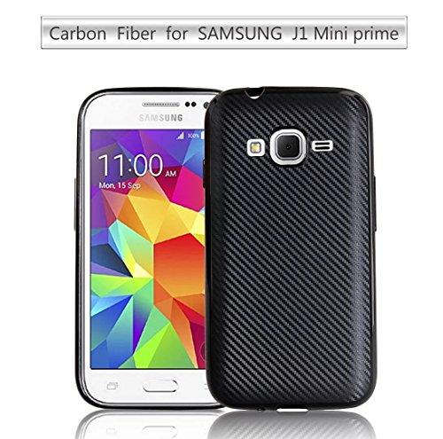 Slim Shockproof Case for Samsung Galaxy J1 (Black) - 2