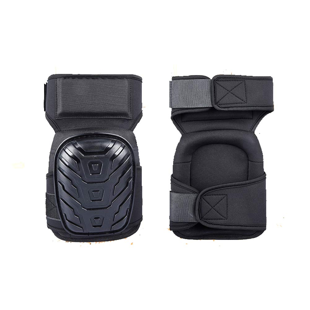 2 Pair Heavy Duty Knee Pads, for Cleaning Flooring and Garden, for Work, Construction Gel Knee Pads Tools by WLIXZ (Image #7)