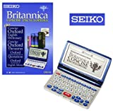 Software : Seiko ER8100 Britannica and Oxford Reference Library