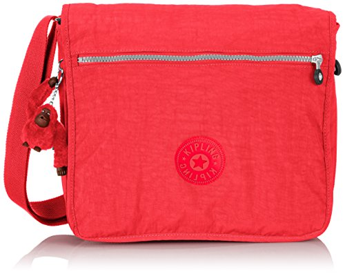 Kipling - MADHOUSE - Bolso de hombro  - Flamb Shell C - (Rosa) Rojo (Poppy Red)