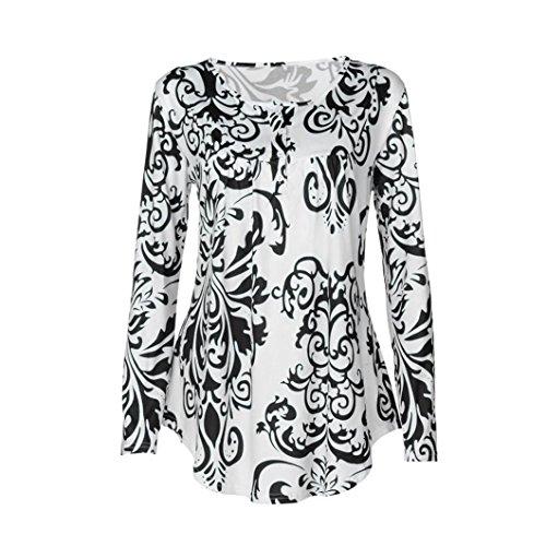 Epaule Fluide b T Chic OHQ Dentelle Shirt Coton Chemise sans Tunique Manche Imprim Noir Casual Noir Cou Tops Floral Womens Manches Longues Ladies LGant Denudee O Chemisier pour Flare Femme 1RCqwCd