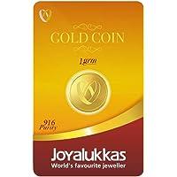 Joyalukkas 22k (916) Gold Coin