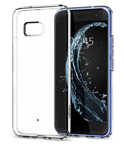 HTC U11 Case, HTC U 11 Caso, Spigen Liquid Crystal - Slim Protection and Premium Clarity for HTC U11 (2017) - Crystal Clear