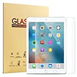 #7: 2017 iPad 5th Gen 9.7 inch / iPad Pro 9.7 / iPad Air 2 / iPad Air Screen Protector, KVAGO High Definition Clear 9H Hardness Scratch Resistant Tempered Glass Screen Protector