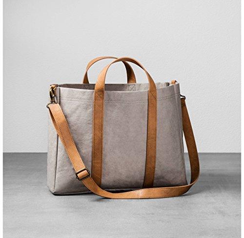 Hearth & Hand with Magnolia Womens Tote Handbag Crossbody Bag BROWN TAN Joanna Gaines Collection